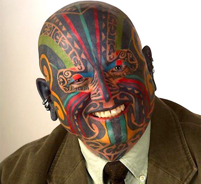 full-tattoo-face
