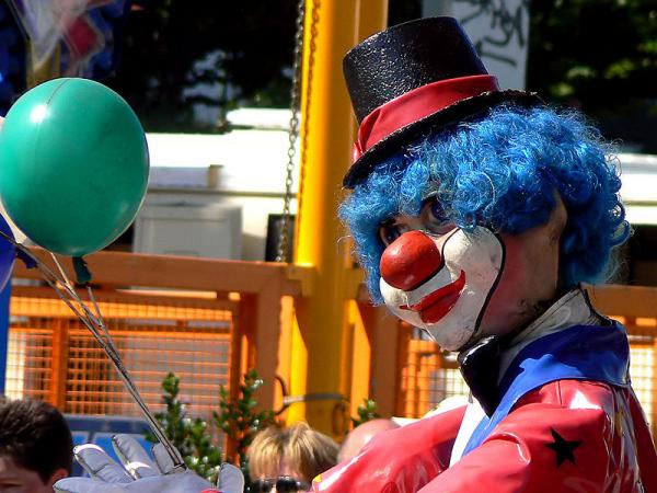 clown phobia