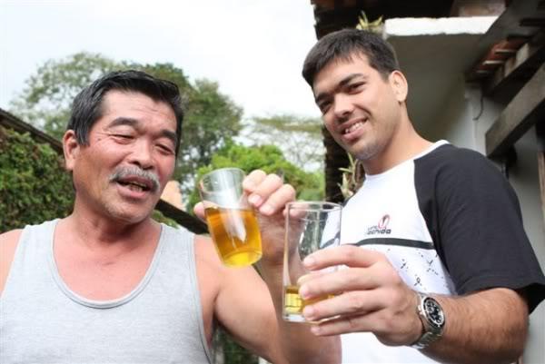 drinking urine
