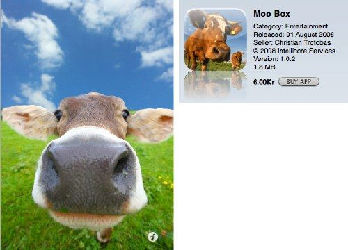 hello cow cool iPhone apps