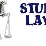 Weird Laws Around the World Part I