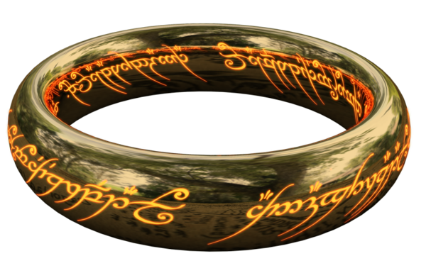 The One Ring, from the Lord of the Rings